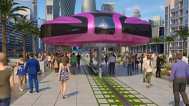 Diese UFOs können den Verkehr revolutionieren (Bild: youTube.com)