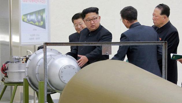"Nordkorea wertet UN-Sanktionen als ""Provokation"" (Bild: KCNA via KNS)"