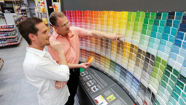 Bei OBI heißt es bei der Farbwahl: beraten statt raten. (Bild: OBI)