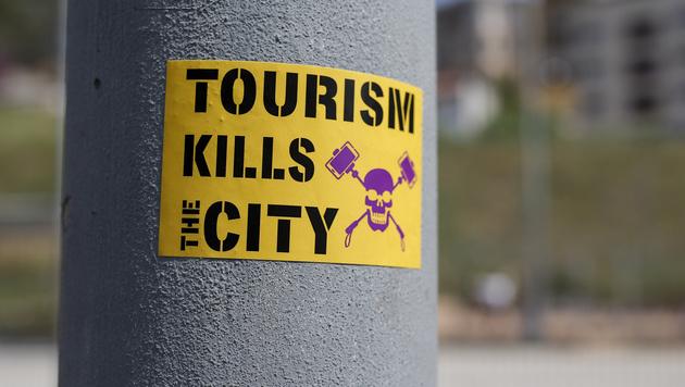 """""""Tourismus tötet die Stadt"""" (Bild: AFP)"""