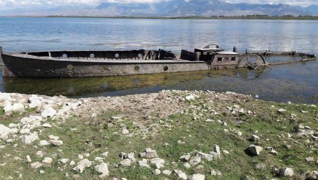 "K.-u.-k.-Marineschiff am Balkan ""aufgetaucht"" (Bild: albeu.com)"