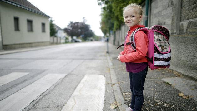 Kommt Fahrverbot rund um Schulen? (Bild: APA/GEORG HOCHMUTH)