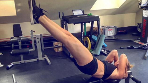 Hartes Training für Ski-Queen Lindsey Vonn! (Bild: instagram.com/Lindsey Vonn)