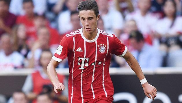 Youngster Friedl steht im CL-Kader des FC Bayern (Bild: GEPA)