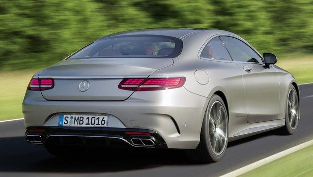 Mercedes S Coupé/Cabrio: Siegeszug der Geisterhand (Bild: Mercedes-Benz)