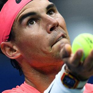 Nadal stürmt ins Halbfinale - Rublew chancenlos (Bild: AFP)