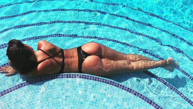 Wow! Heißer Schnappschuss von Georgina Rodriguez, der Freundin von Cristiano Ronaldo, auf Ibiza. (Bild: instagram.com)