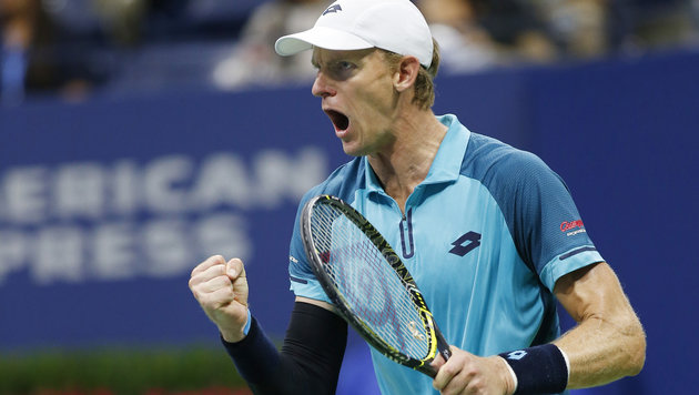 US Open: Anderson kickt Querrey aus dem Turnier (Bild: AP)