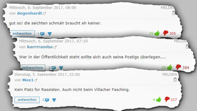 """Leser: """"ORF und Objektivität! Ist schon Fasching?"""" (Bild: krone.at, krone.at-Grafik)"""