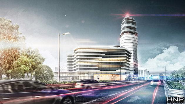Flughafen Wien baut für 60 Millionen Euro aus (Bild: FLUGHAFEN WIEN/HNP ARCHITECTS)