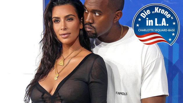 Kim Kardashian und Kanye West bekommen ein Mädchen (Bild: Walker/face to face)