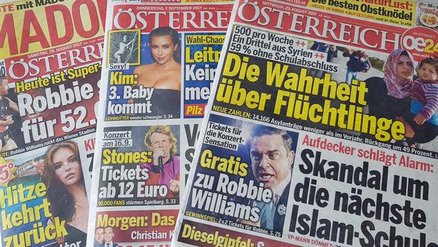"""Magazin-Abo aufgedrängt: Urteil gegen """"Österreich"""" (Bild: krone.at)"""
