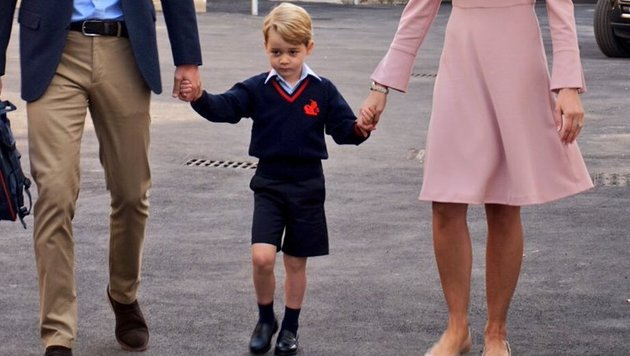 Prinz George in seiner neuen Schuluniform (Bild: Kensington Palast)