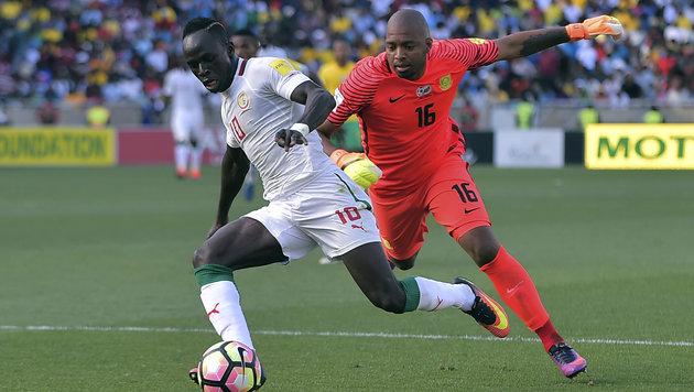 WM-Qualimatch Südafrika-Senegal wird wiederholt (Bild: AFP)