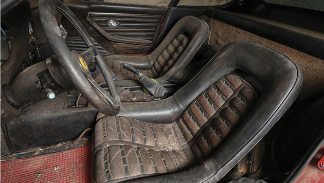 Warum dieses Ferrari-Wrack 1,7 Mio. bringen soll (Bild: Sothebys)