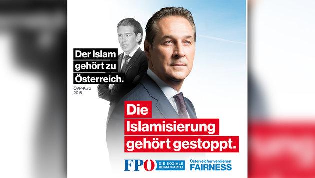 """""""Bonzentum"""": FPÖ-Attacke gegen Kern und Gusenbauer (Bild: FPÖ, krone.at-Grafik)"""