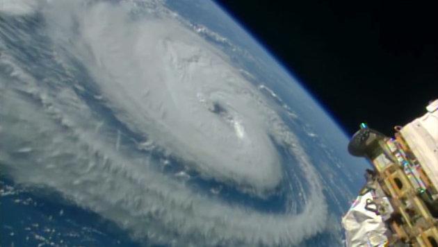 """ISS-Crew filmt Hurrikan """"Irma"""" aus dem All (Bild: NASA)"""