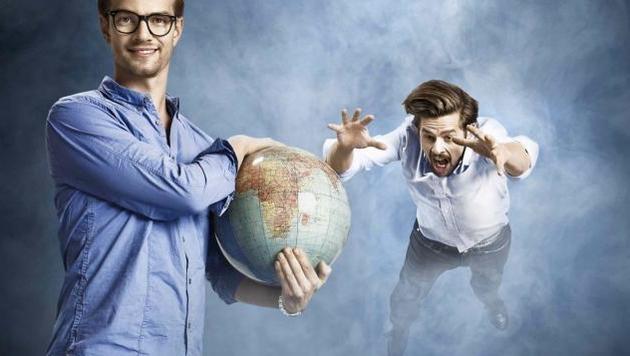 Joko gegen Klaas: Die Welt ist ihnen nicht genug (Bild: Pro7)