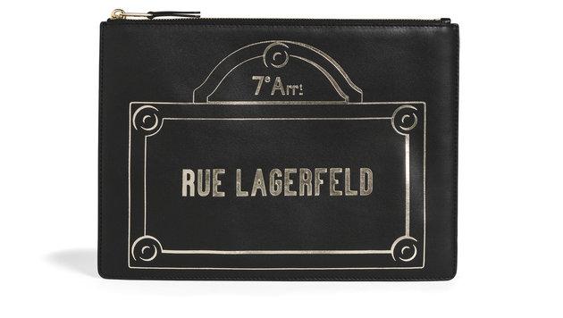 Handtaschenmodell von Karl Lagerfeld (Bild: Marko Dapic)