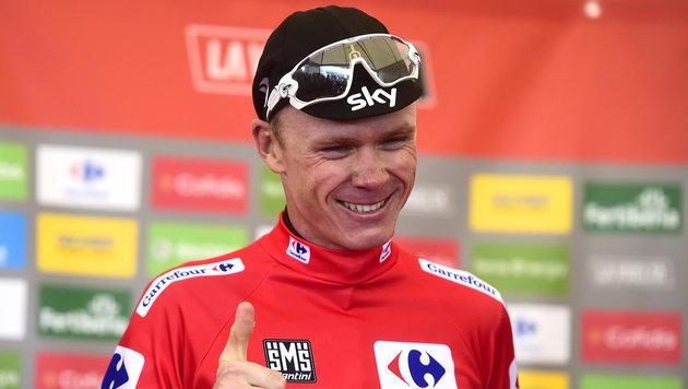 Froome nach Tour-Sieg kurz vor erstem Vuelta-Sieg (Bild: AFP)