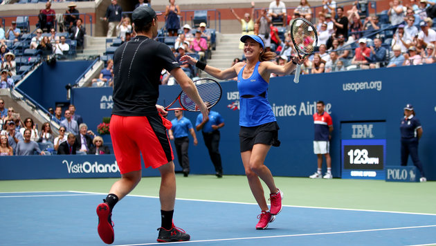Hingis/J. Murray gewinnen Mixed-Doppel der US Open (Bild: Getty Images)