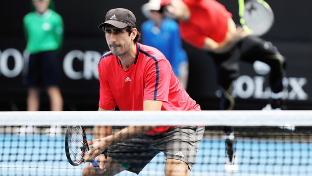 Oswald ersetzt Marach im Davis Cup gegen Rumänen (Bild: GEPA)