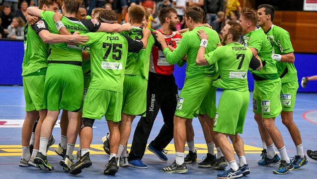 SG Westwien dank Remis im EHF-Cup weiter (Bild: GEPA)
