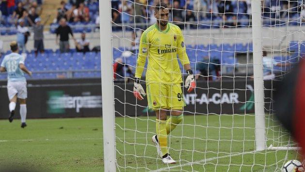 AC Milan kassiert böse 1:4-Klatsche in Rom (Bild: AP)