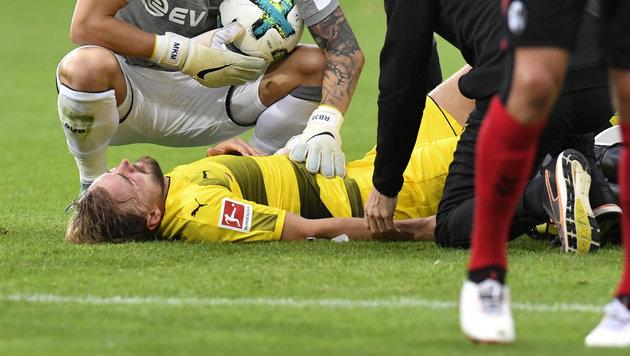 BVB-Kapitän Schmelzer fällt sechs Wochen aus (Bild: AFP)