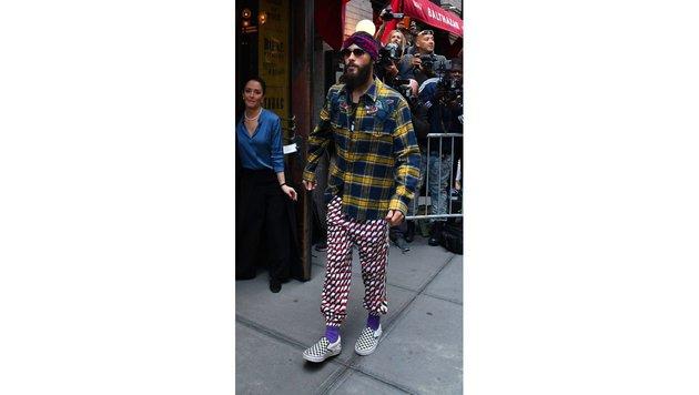 Jared Leto in New York (Bild: www.PPS.at)
