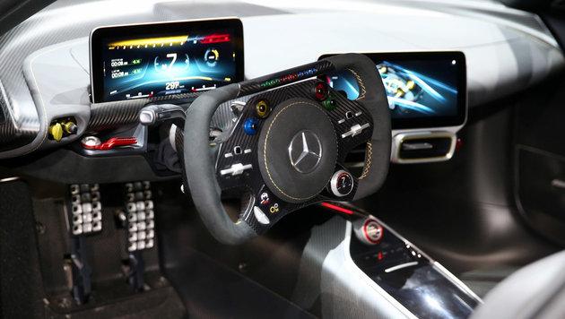 AMG Project ONE: Formel 1 für die Straße (Bild: Zwefo)