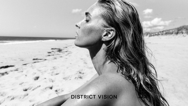 Elsa Hosk macht Werbung für Sonnenbrillen. (Bild: www.PPS.at)