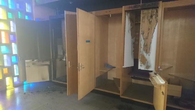 Feuer in Beichtstuhl gelegt: 16-Jähriger gefasst (Bild: Feuerwehr Kapfenberg)