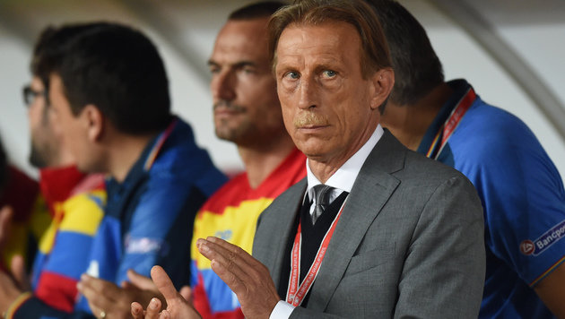 Vorbei! Rumänien will Daum als Trainer loswerden (Bild: AFP)