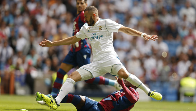 Real Madrid hat Leipzig-Knipser Werner im Visier (Bild: AP)
