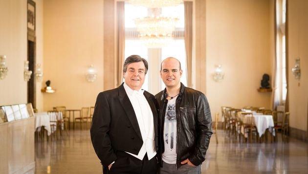 Vater Herwig und Sohn Mario Pecoraro (Bild: Bernhard Eder)