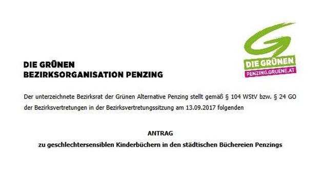 """Wiener Grüne wollen """"Gender-Bücher"""" für Kinder (Bild: """"Krone"""")"""