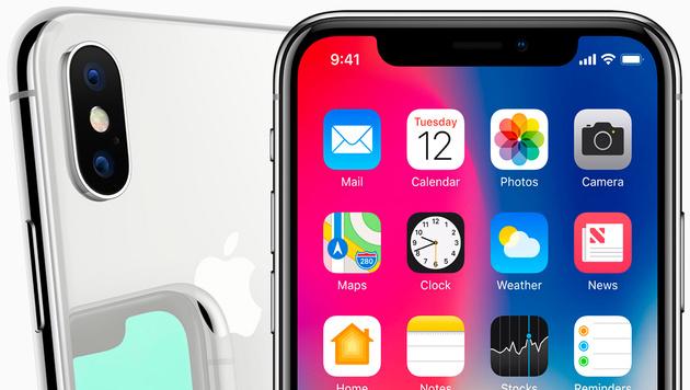 """""""Das iPhone X ist die Zukunft des Smartphones!"""", verspricht Apple-Chef Tim Cook. (Bild: Apple)"""