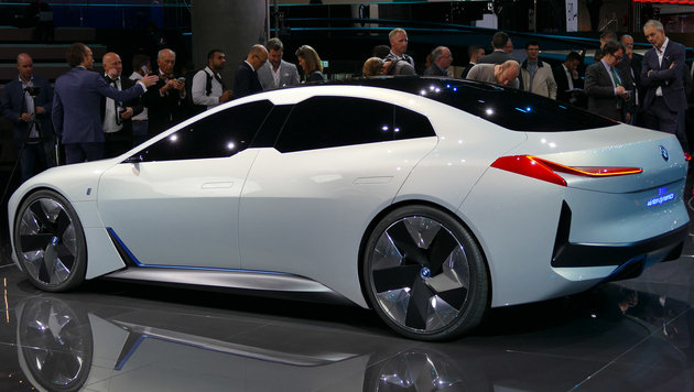 Wird das der BMW i6 Gran Coupé? (Bild: Stephan Schätzl)