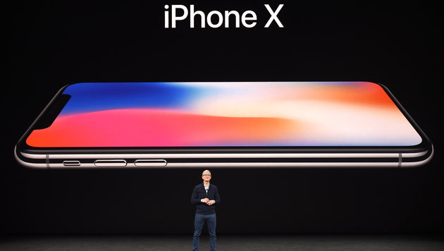 Alles zu iPhone X, iPhone 8 und Apple Watch (Bild: AFP)