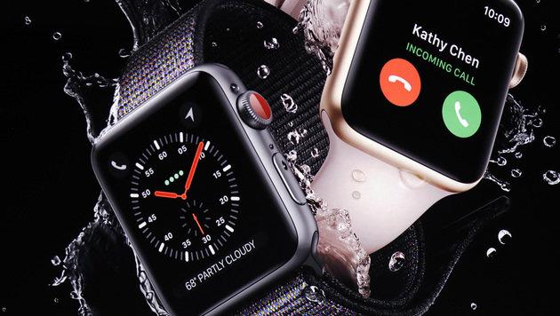 Apple kündigt Apple Watch mit integriertem LTE an (Bild: AP)