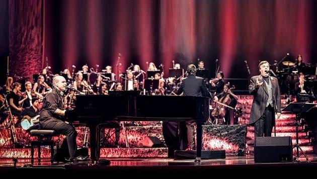 Pecoraro & Pecoraro bei ihrem Konzert in der Wiener Stadthalle im April dieses Jahres (Bild: Rene Langer)