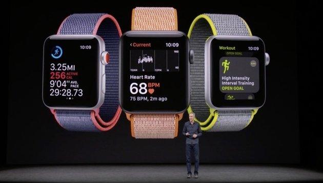 Apple kündigt Apple Watch mit integriertem LTE an (Bild: Apple)