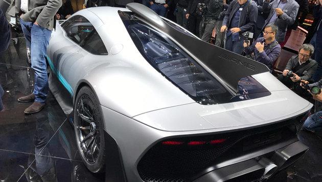 AMG Project ONE: Formel 1 für die Straße (Bild: Stephan Burgstaller)