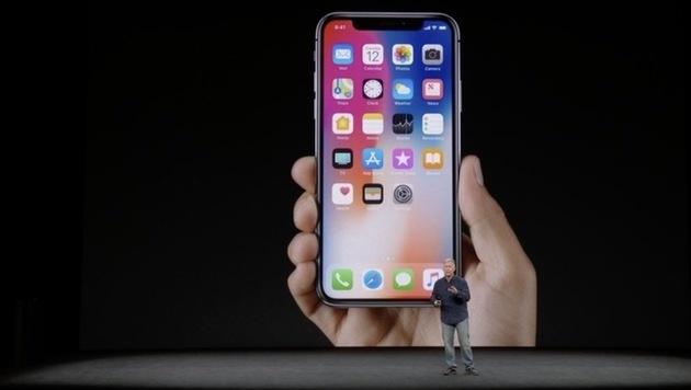 """1319 Euro für """"iPhone X"""" mit Grimassen-Emojis! (Bild: Apple)"""