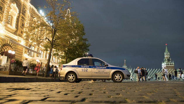 Moskau: Rätselraten nach anonymen Bombendrohungen (Bild: ASSOCIATED PRESS)