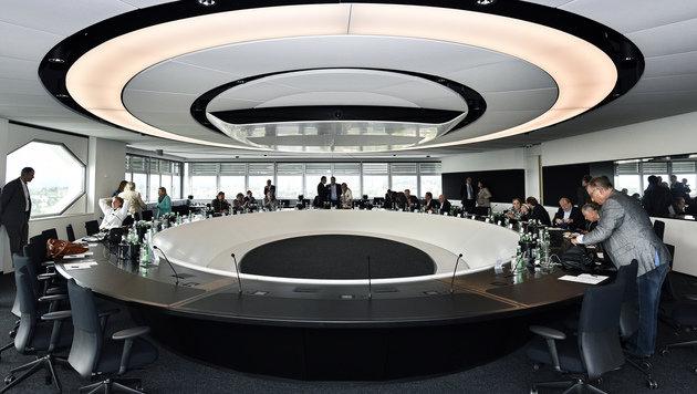 Die Freude der Publikumsräte über den Wurf des Architektenpaares Veech & Veech war eher verhalten. (Bild: APA/Hans Punz)