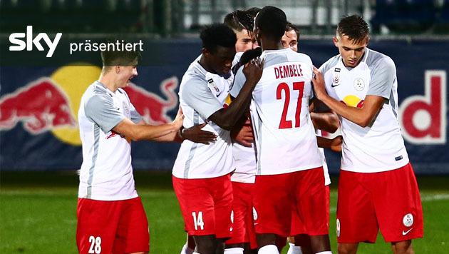 FC Liefering besiegt Kapfenberg mit 2:1 (Bild: GEPA)