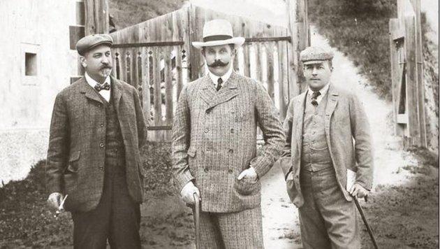 1905: Thronfolger Franz Ferdinand besuchte  Mauterndorf (Bild: Roland Holitzky)