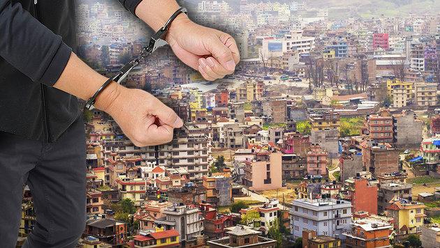 Österreicher in Nepal als Sextourist festgenommen (Bild: stock.adobe.com, krone.at-Grafik)